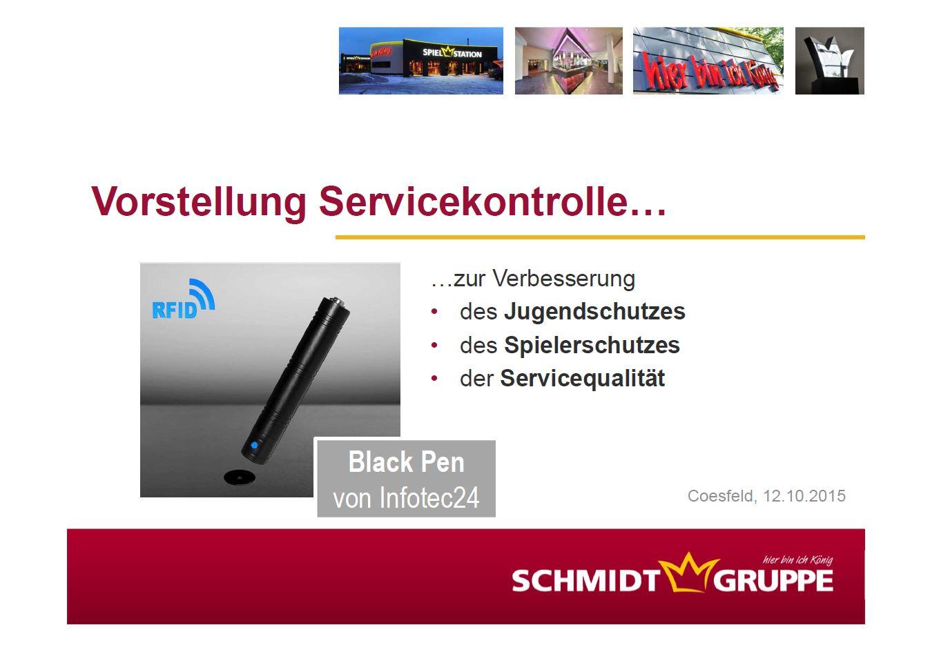 Vorstellung Servicekontrolle